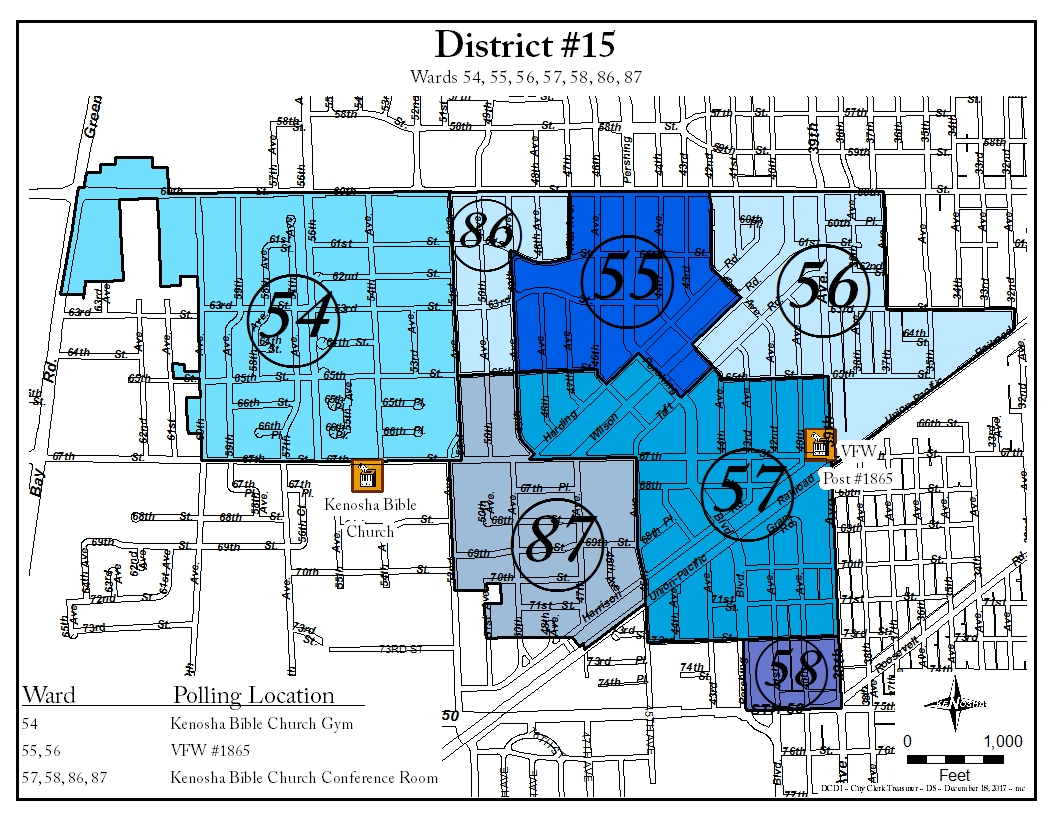 District 15 map