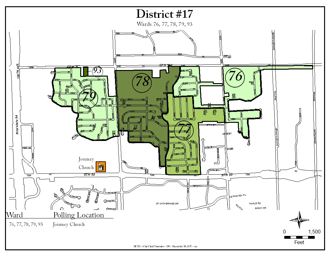 District 17 map