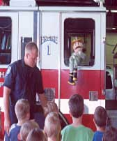 Kids Fire Safety Demonstration