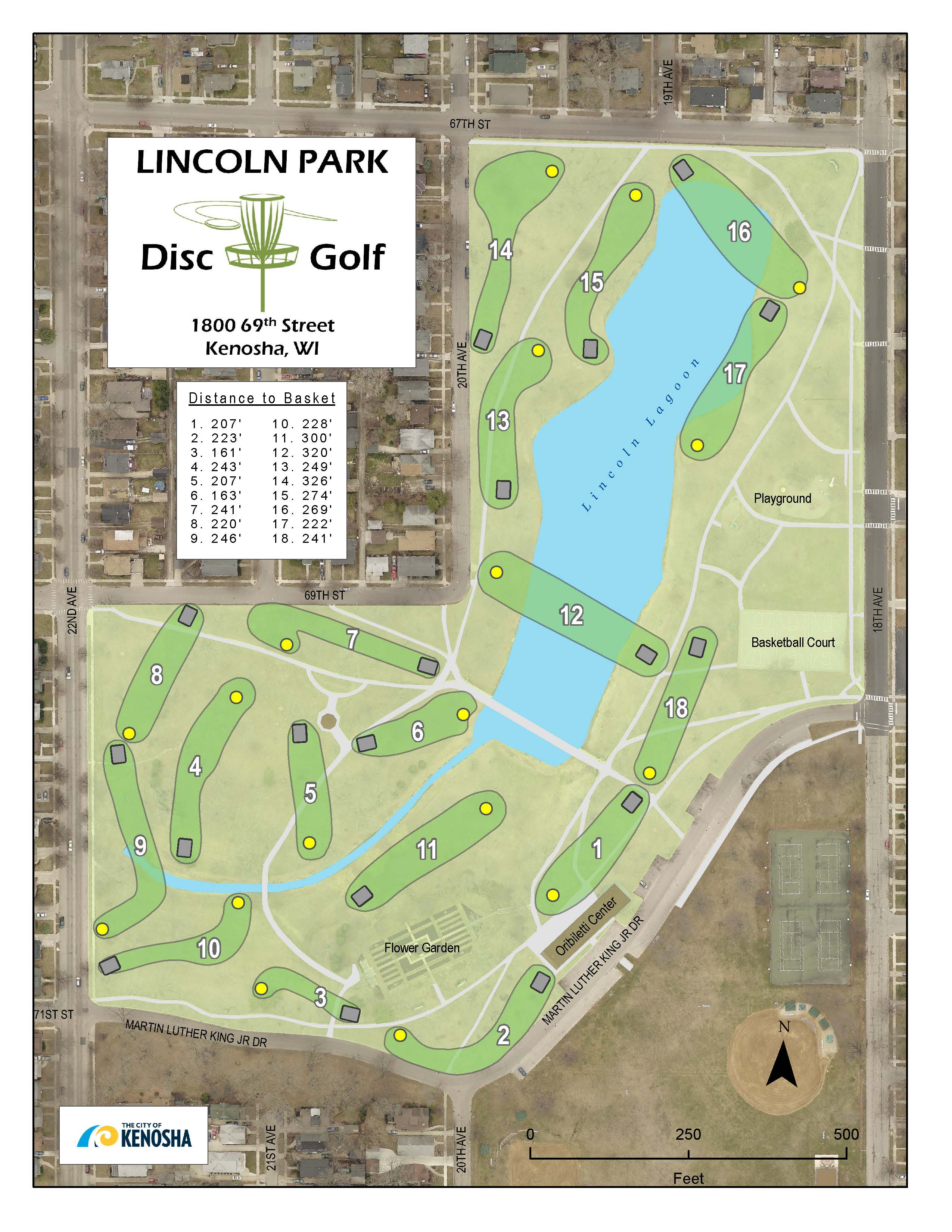 LincolnParkDiscCourseMap